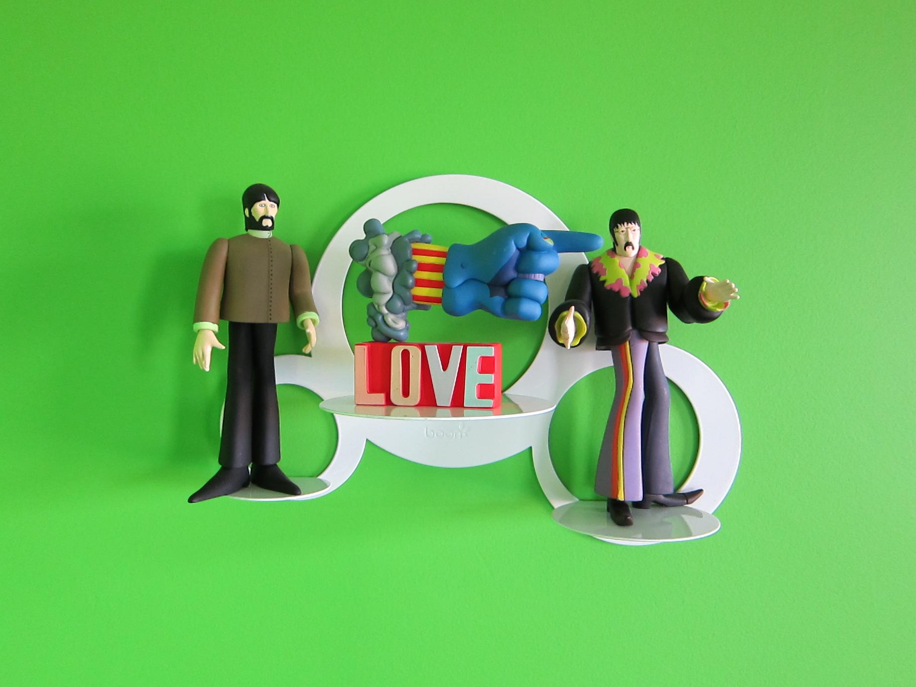 Beatles Figurines Vignette
