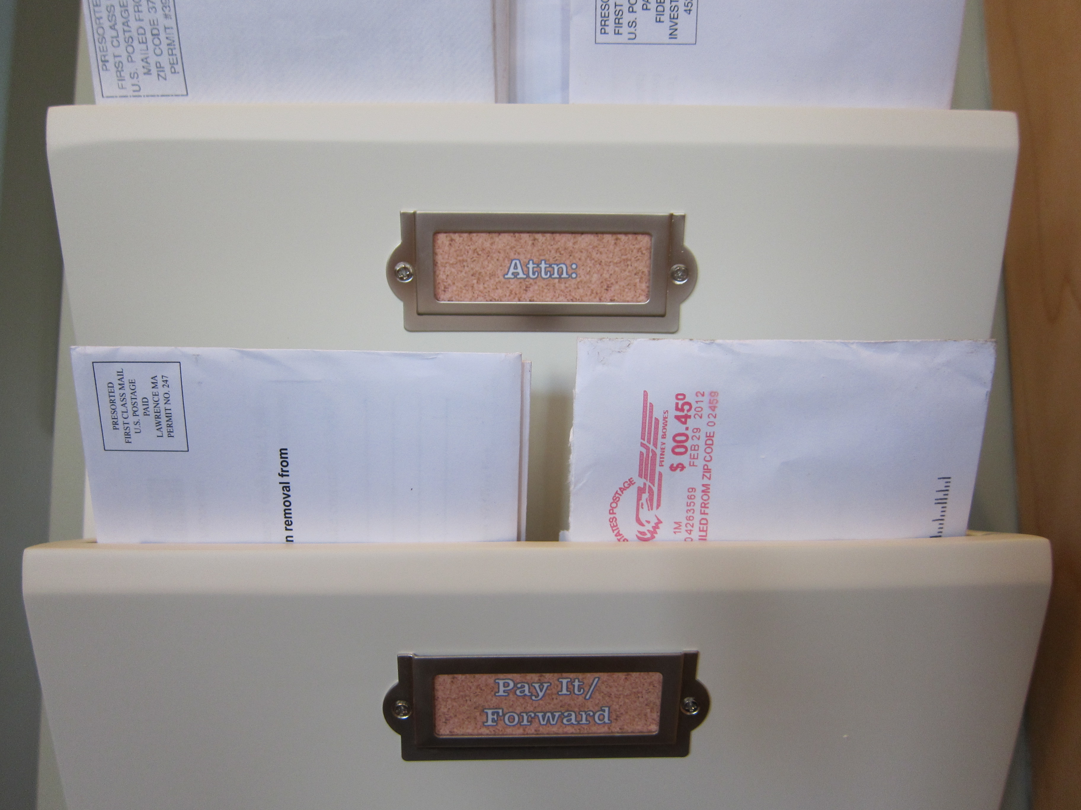 Mail Organization System