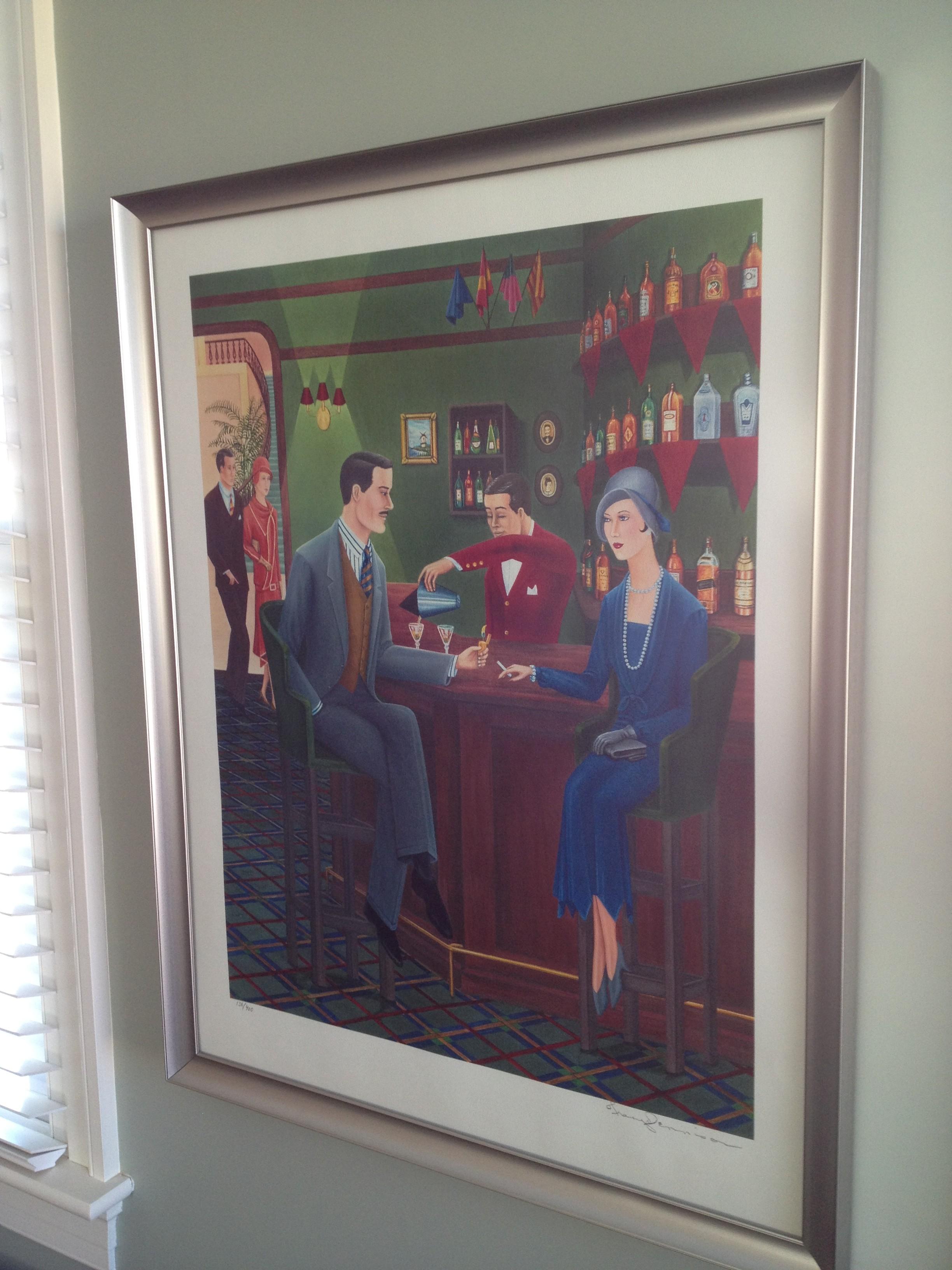 Art Deco Style Print