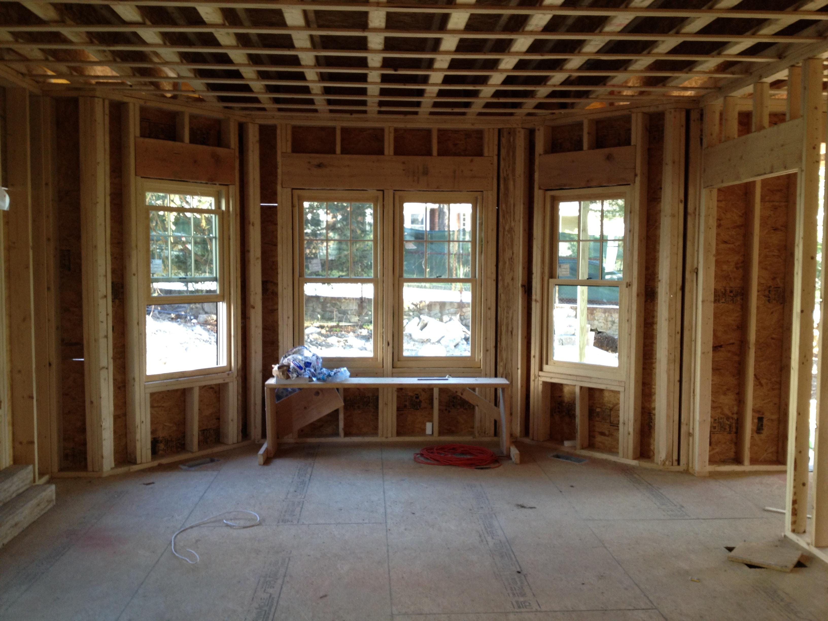 Dining Room Bay Windows