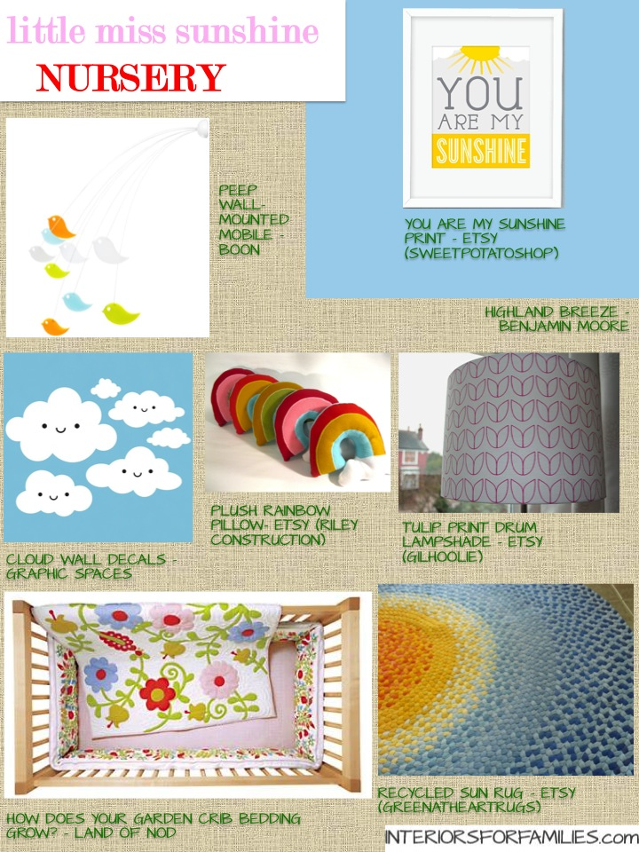 Nursery Theme Thursday - Little Miss Sunshine