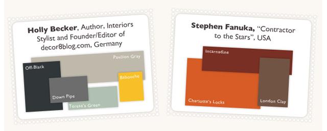 Farrow & Ball - British Color Scheme