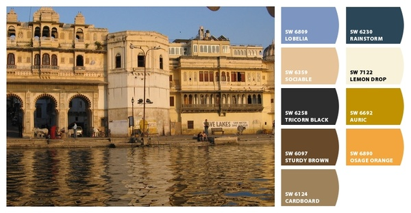 Udaipur color palette
