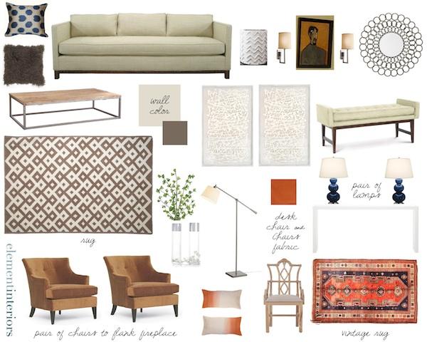 Erin Gates Design - materials