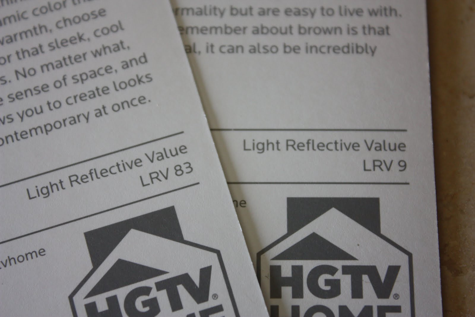 Light Reflectance Value