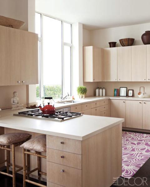 Megan Mullally's Kitchen - Elle Decor