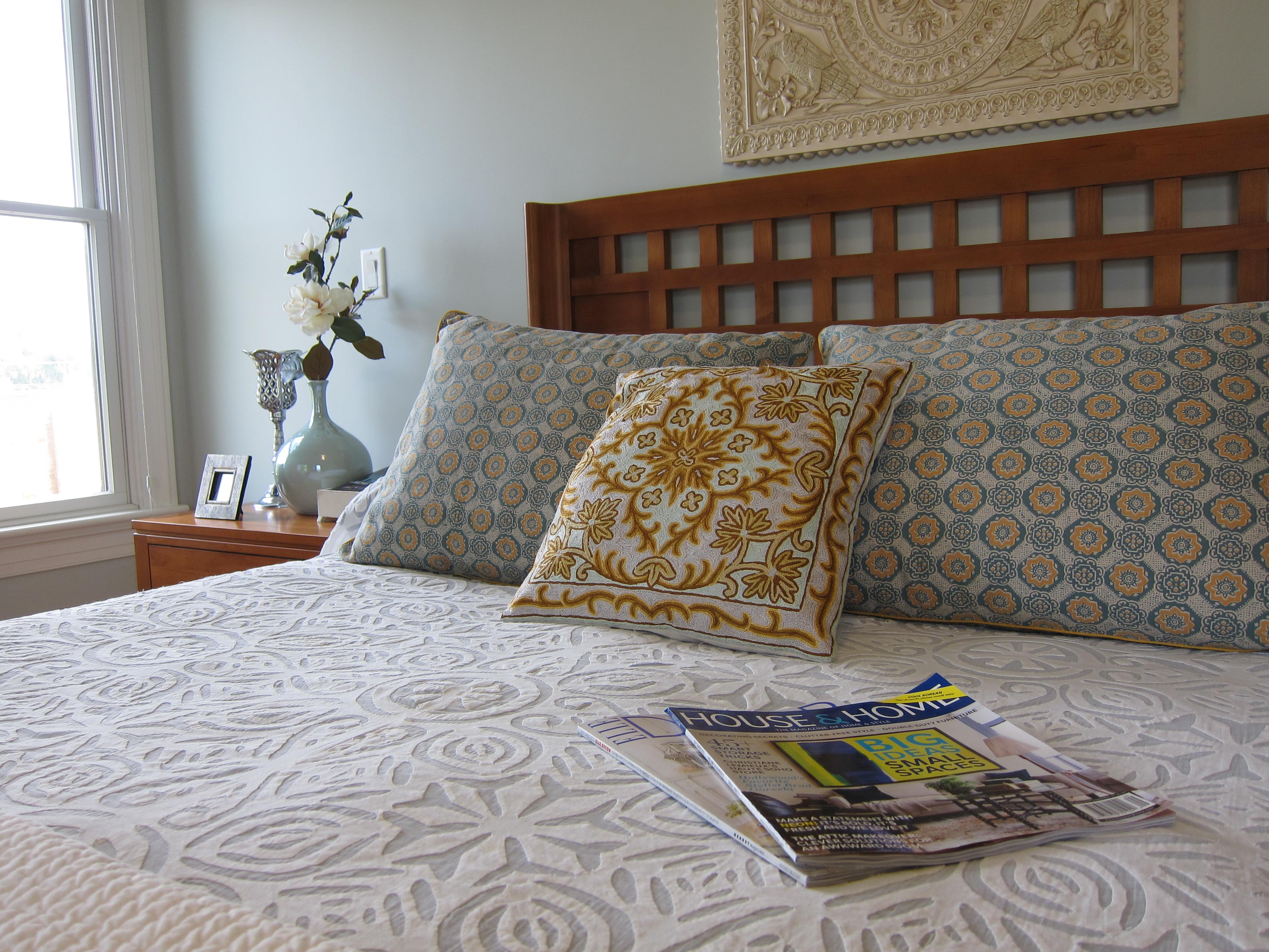 Master Bedroom - Bed Detail