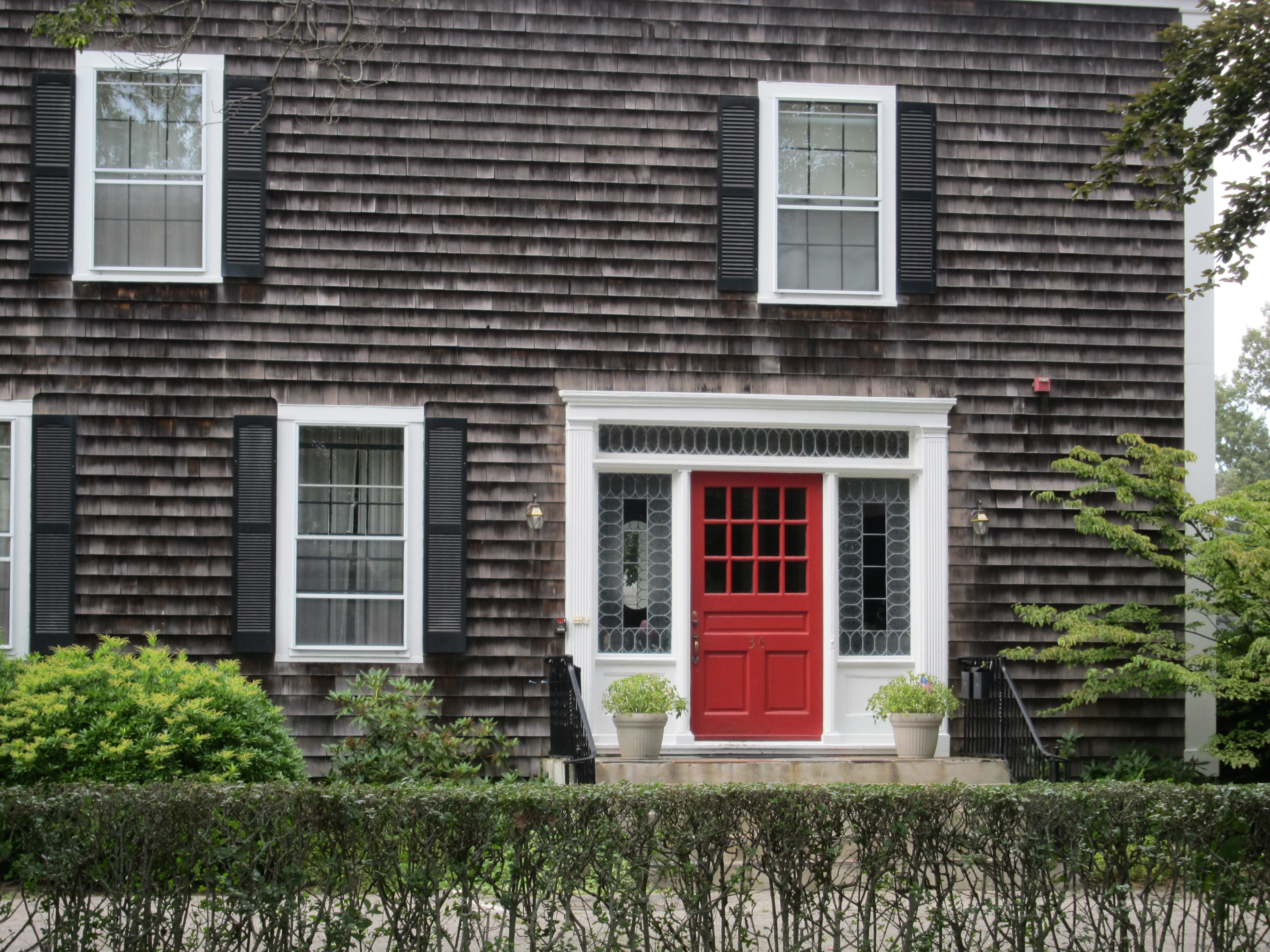 Red Door and Shingles