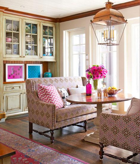 Breakfast Room by Liz Caan