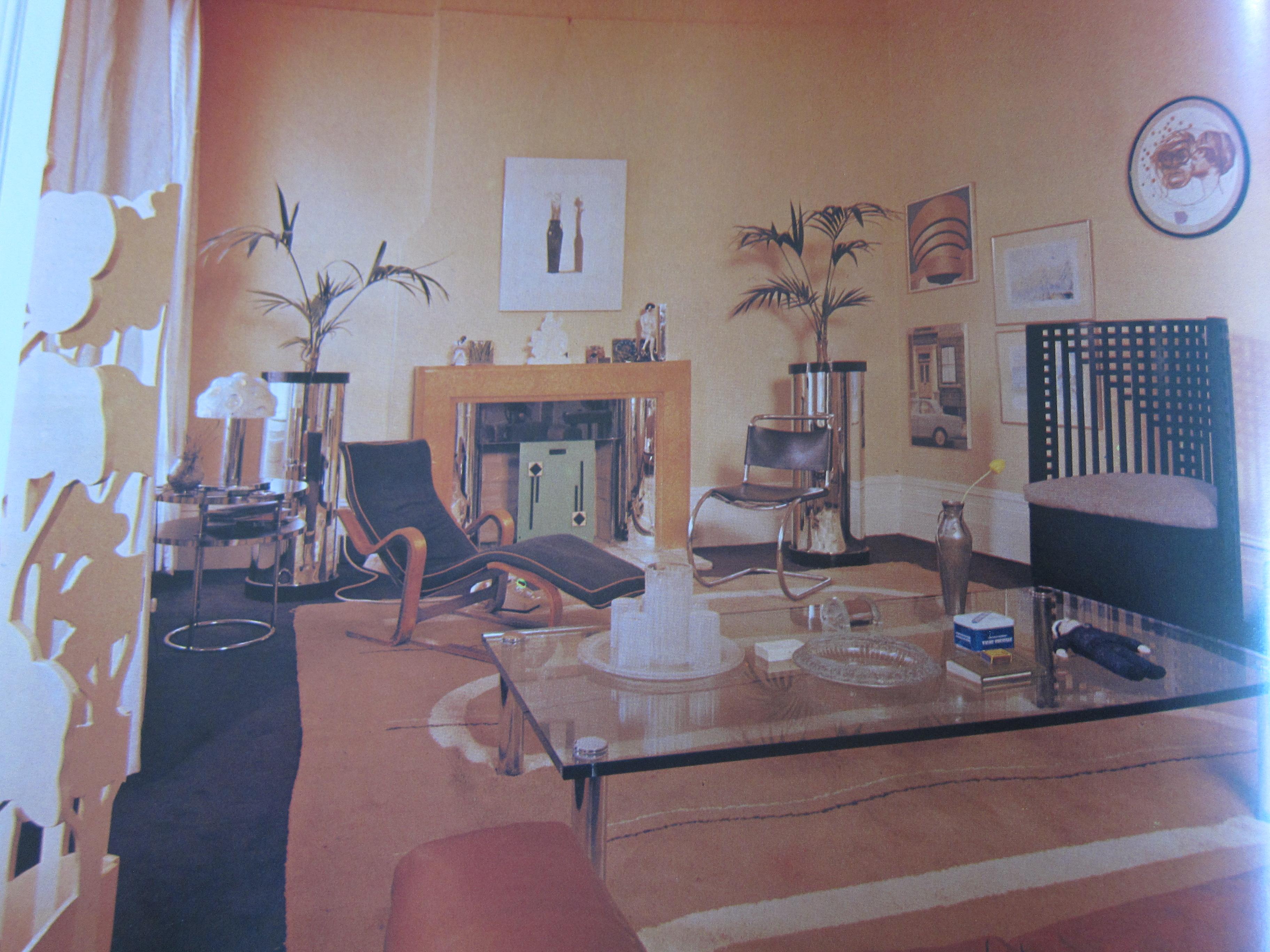 David Hockney Living Room