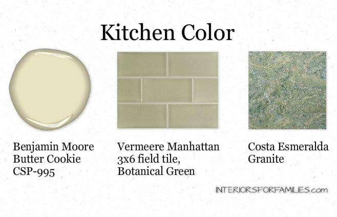 Kitchen Color Scheme - IFF