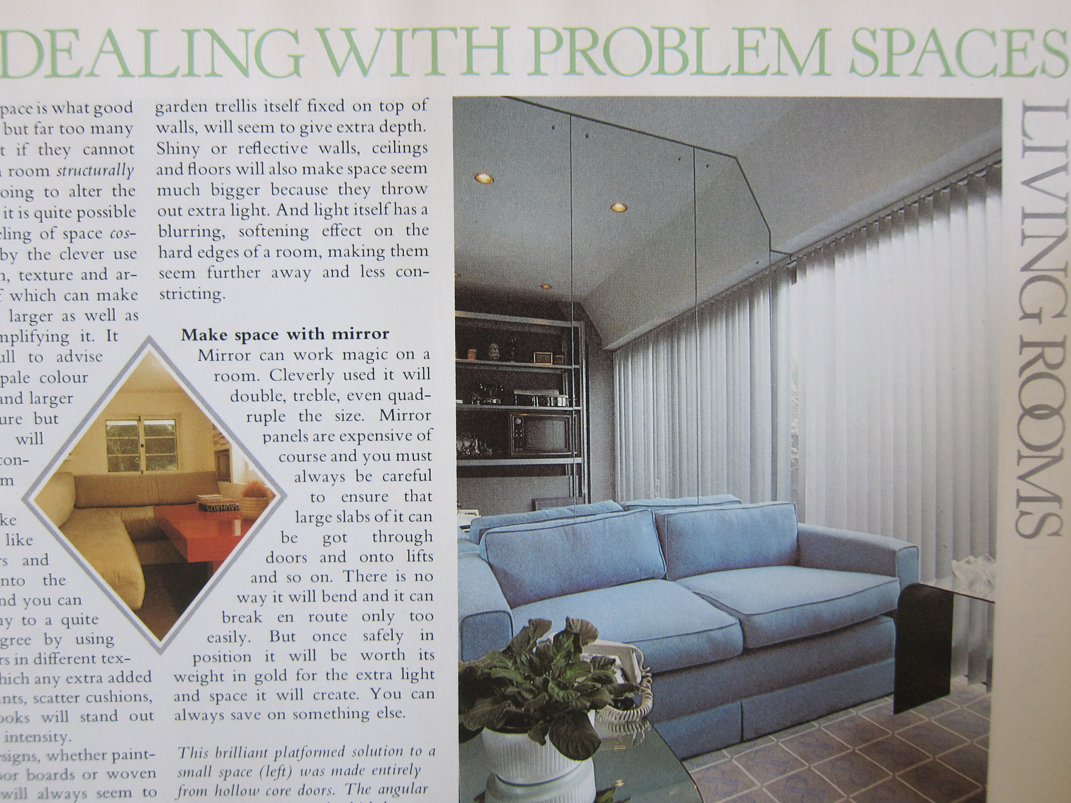 Mirrored Wall from 1980s