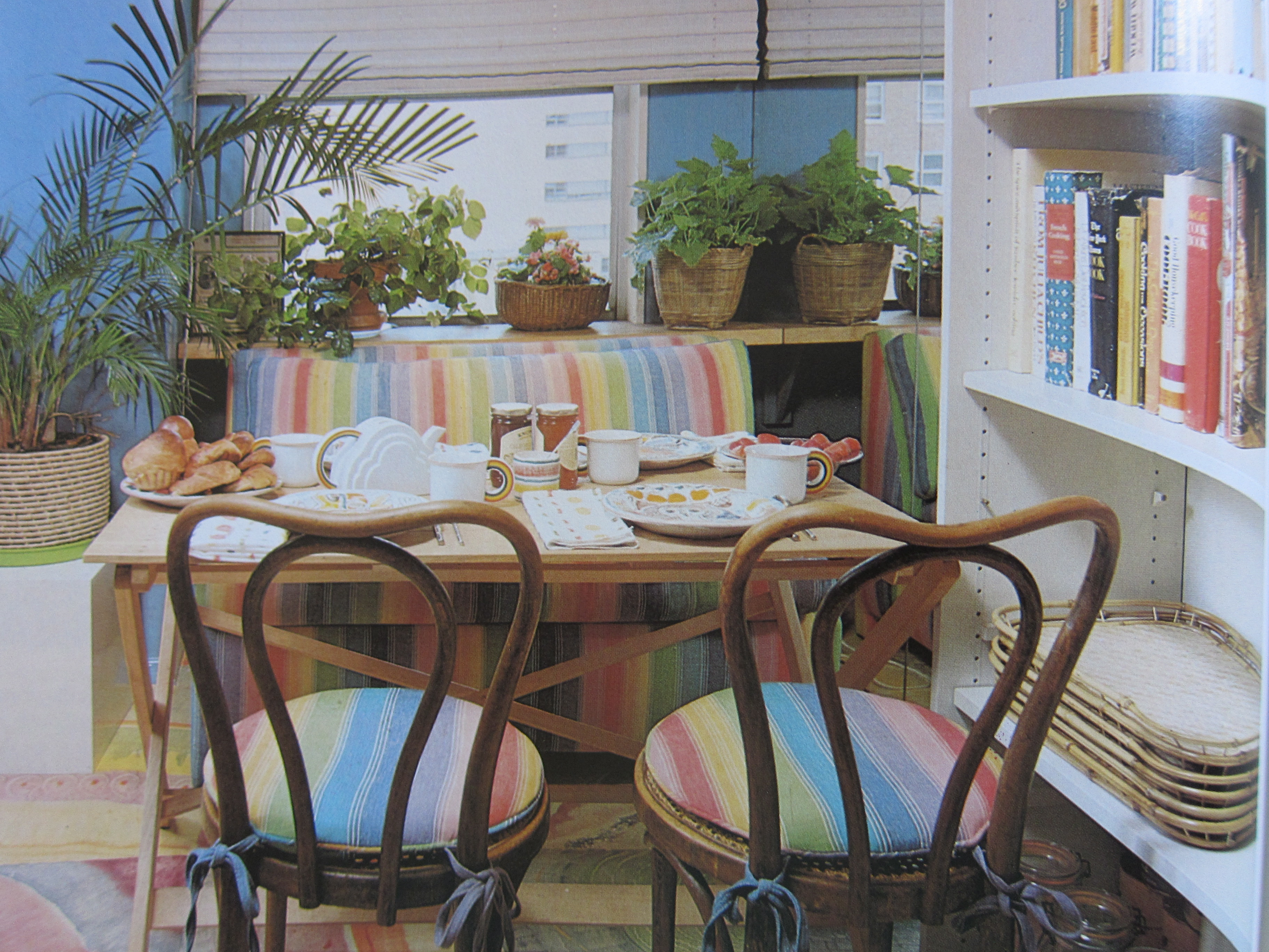 1980s Breakfast Room