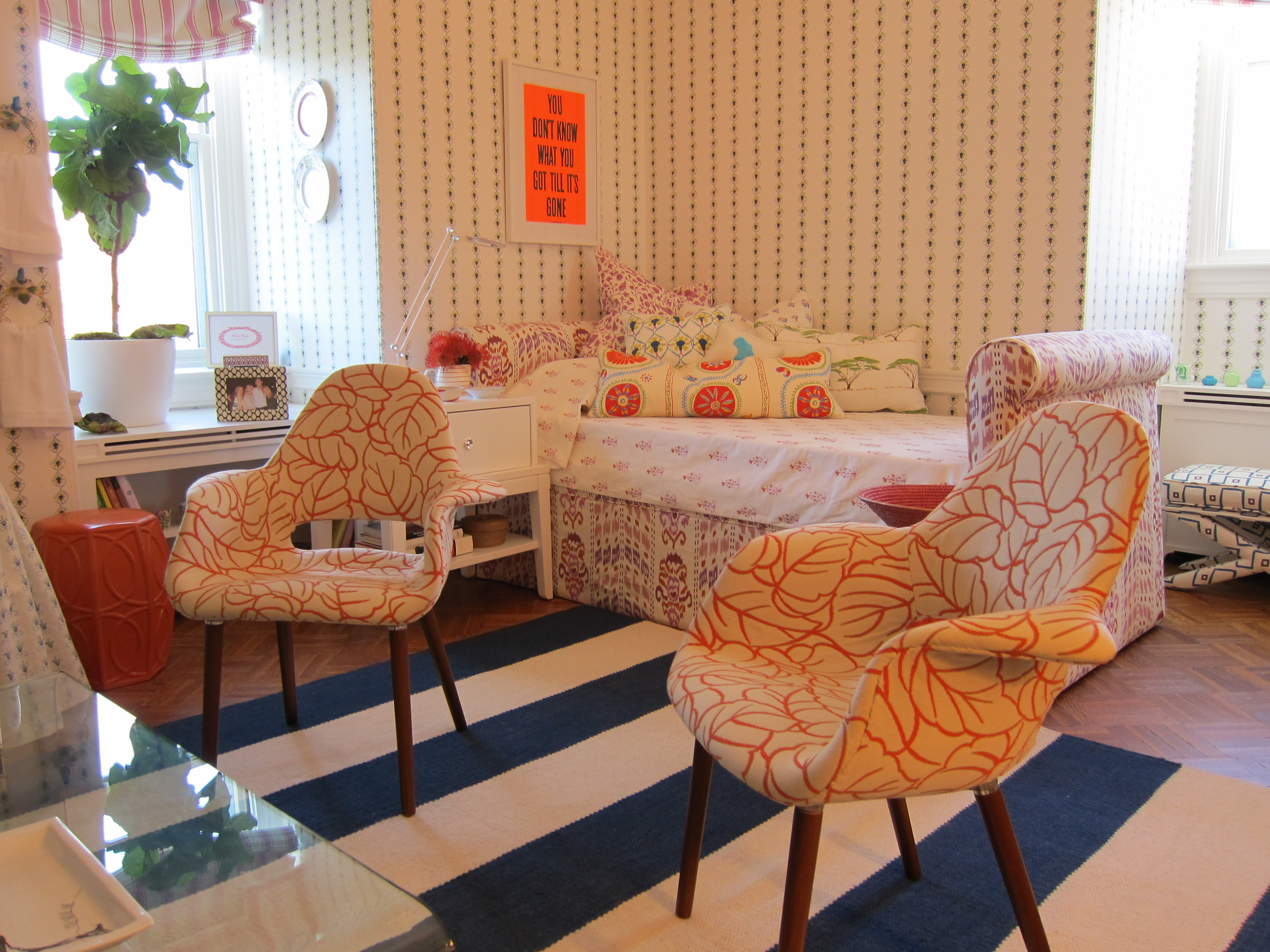 Mally Skok Young Woman's Bedroom - JLB Show House 2012
