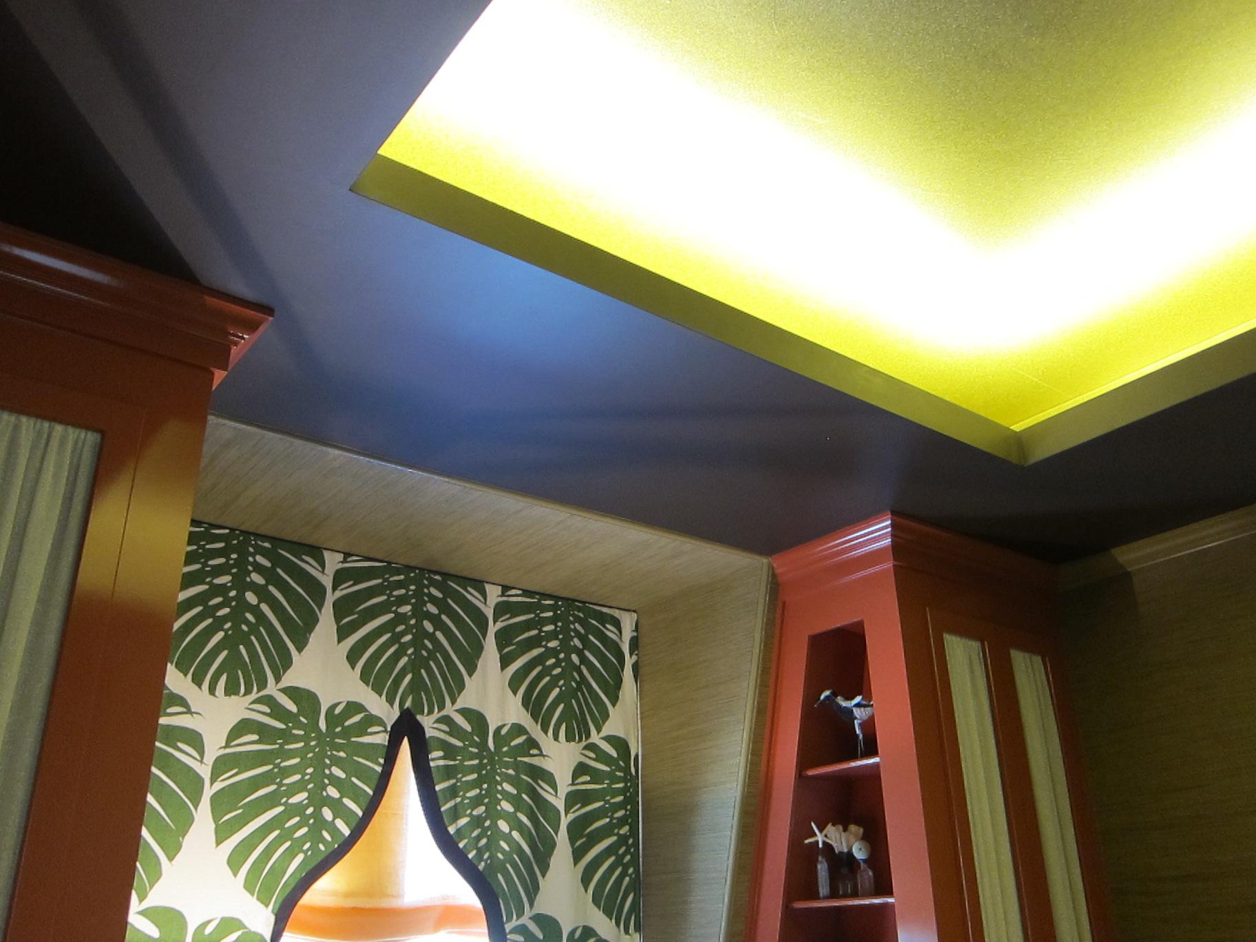 Cove Lighting in Inner Sanctum