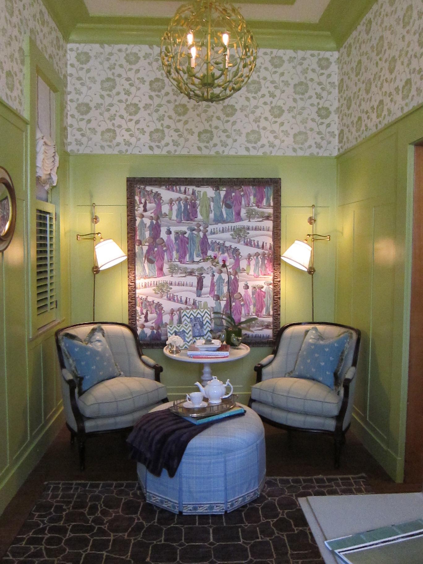 Elizabeth Benedict The Green Room - JLB Show House 2012