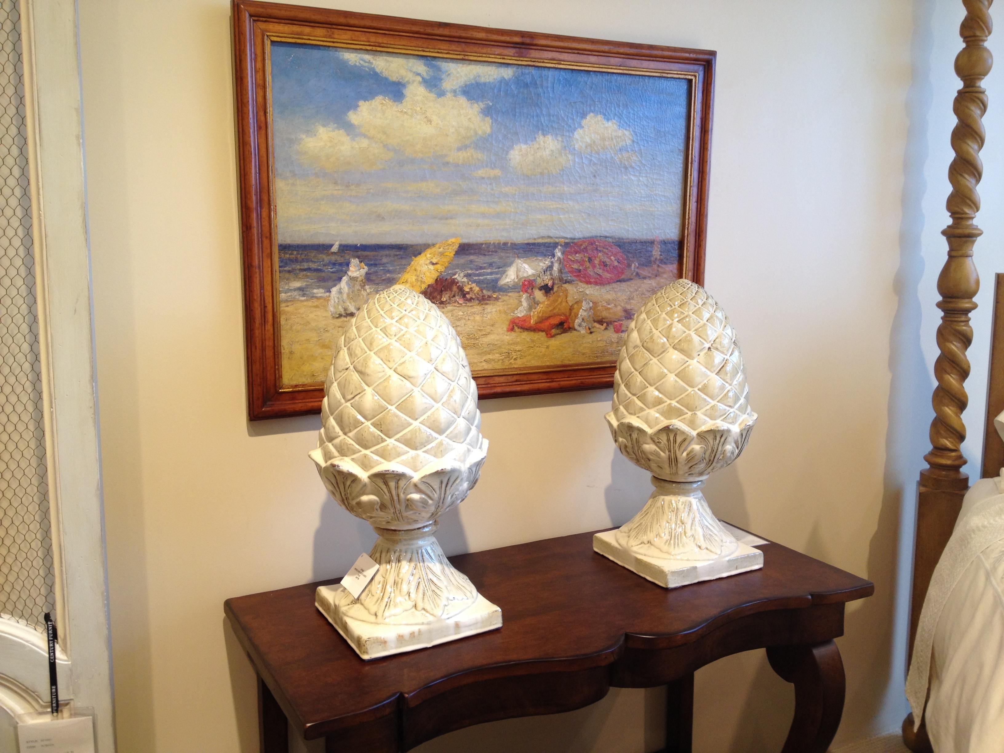 Pineapple Finials at Century Furniture