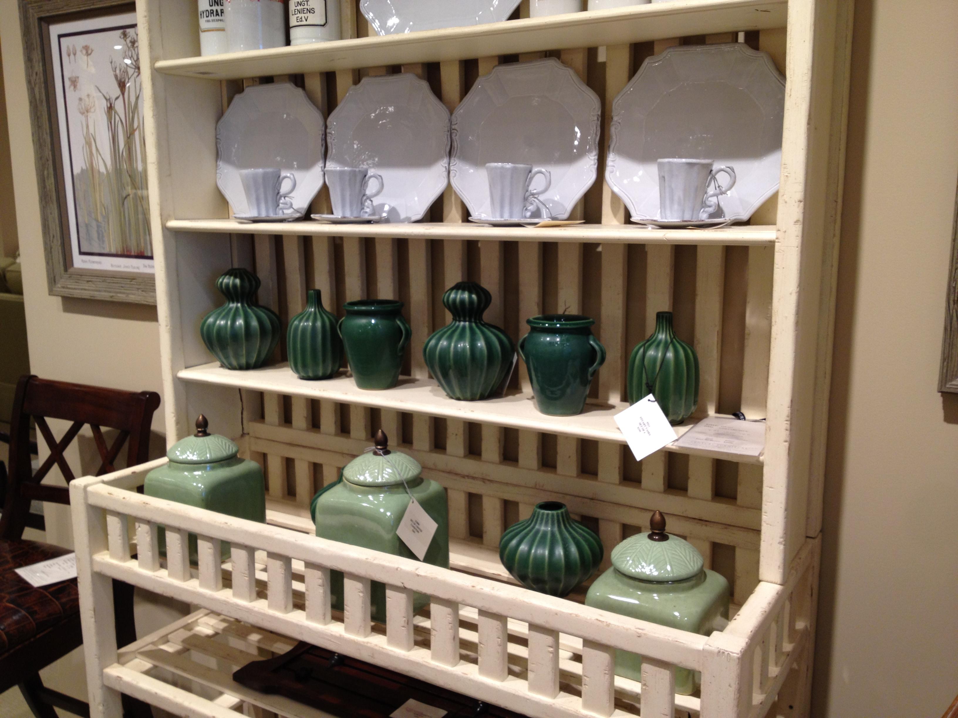 Century Furniture - green accessories