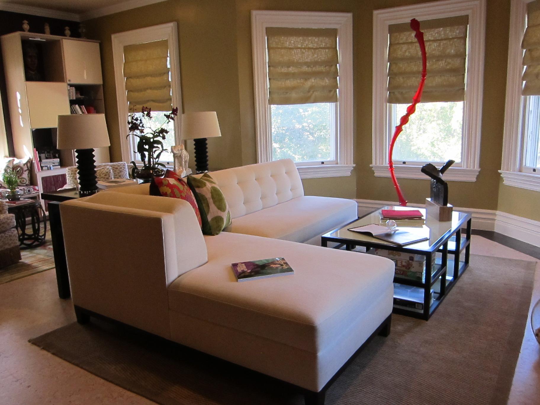Suzanne Logan - Family Room, JLB Show House 2012