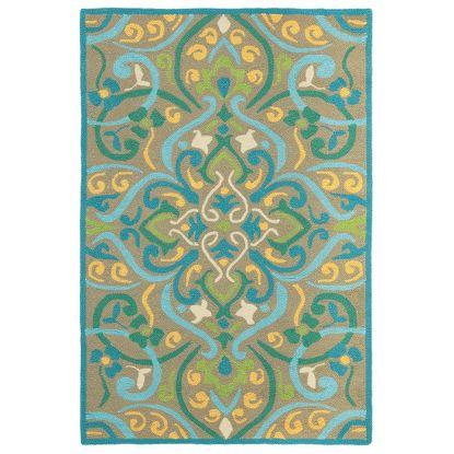 Morocco Colorspree Aqua Rug - Company C