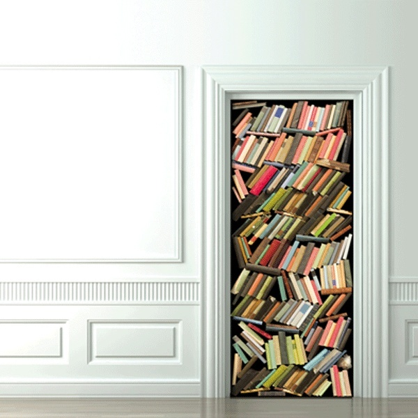 Koziel Messy Books Stack