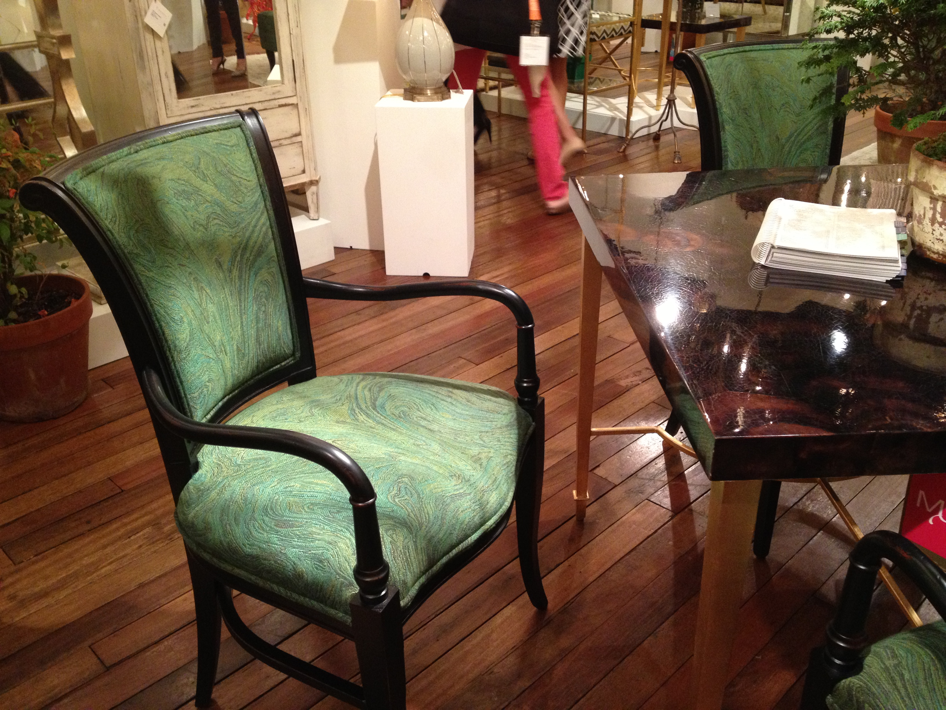 Regency-esque Dining Chair - Currey & Co #hpmkt