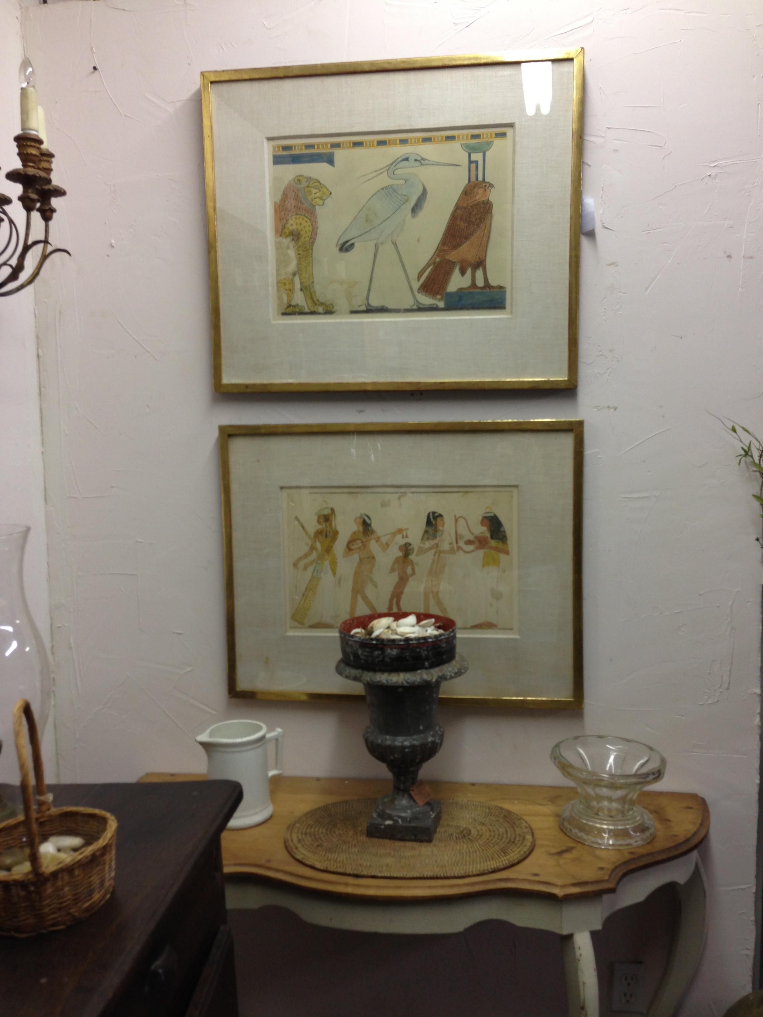 Vintage Egyptian Prints - Berkshire Home & Antiques