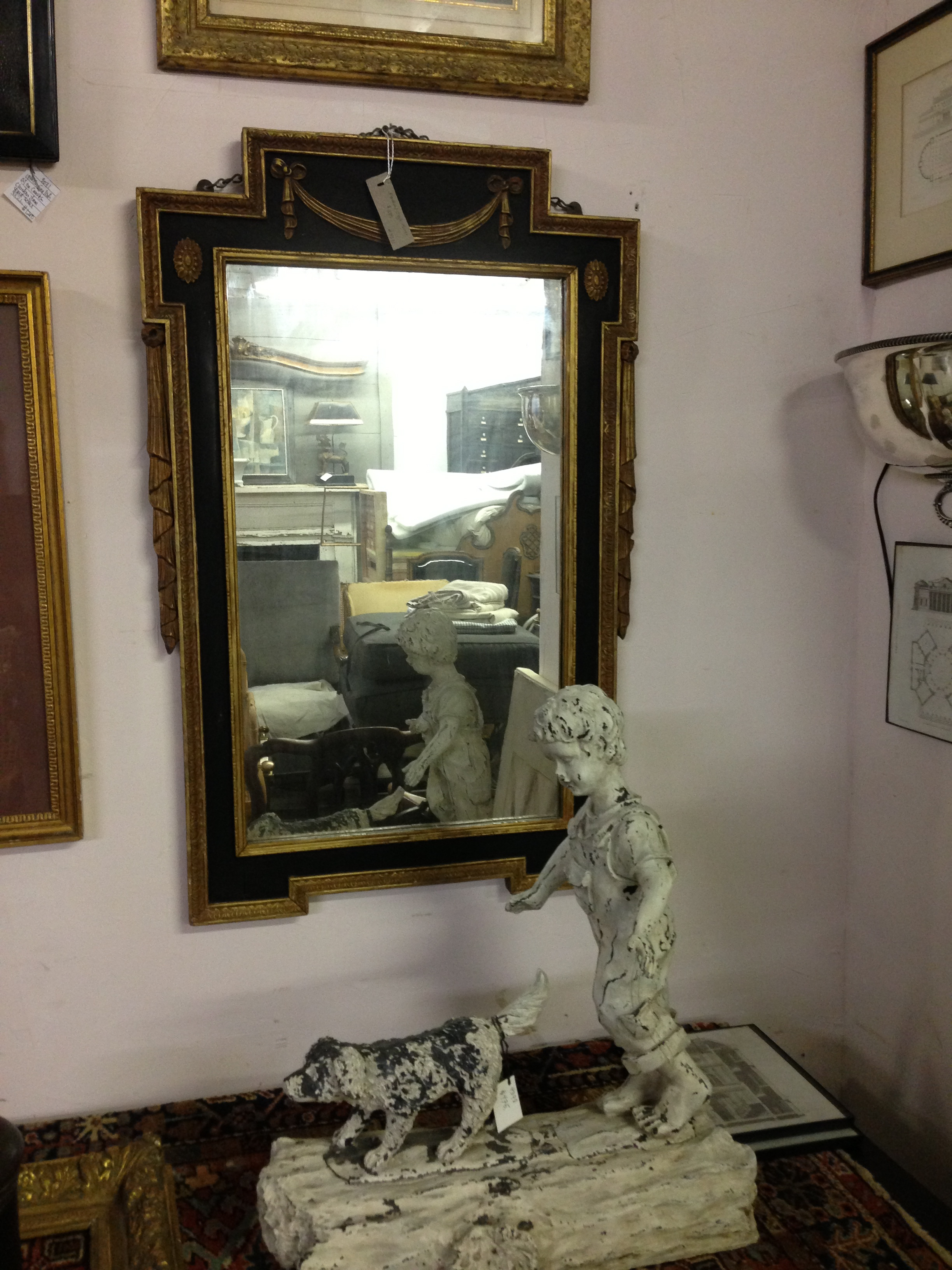 Federal Style Mirror - Berkshire Home & Antiques