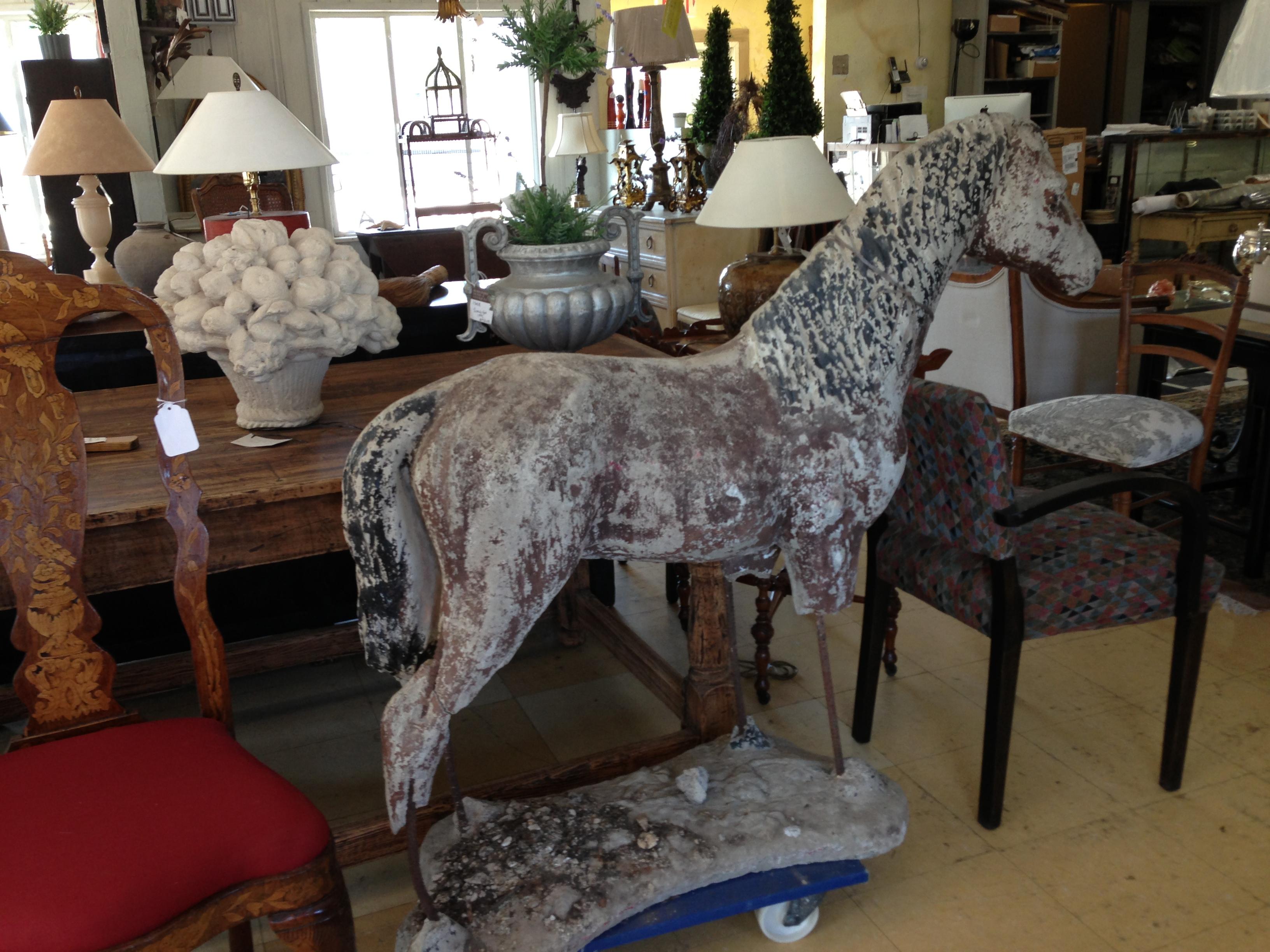 Horse Sculpture - Berkshire Home & Antiques