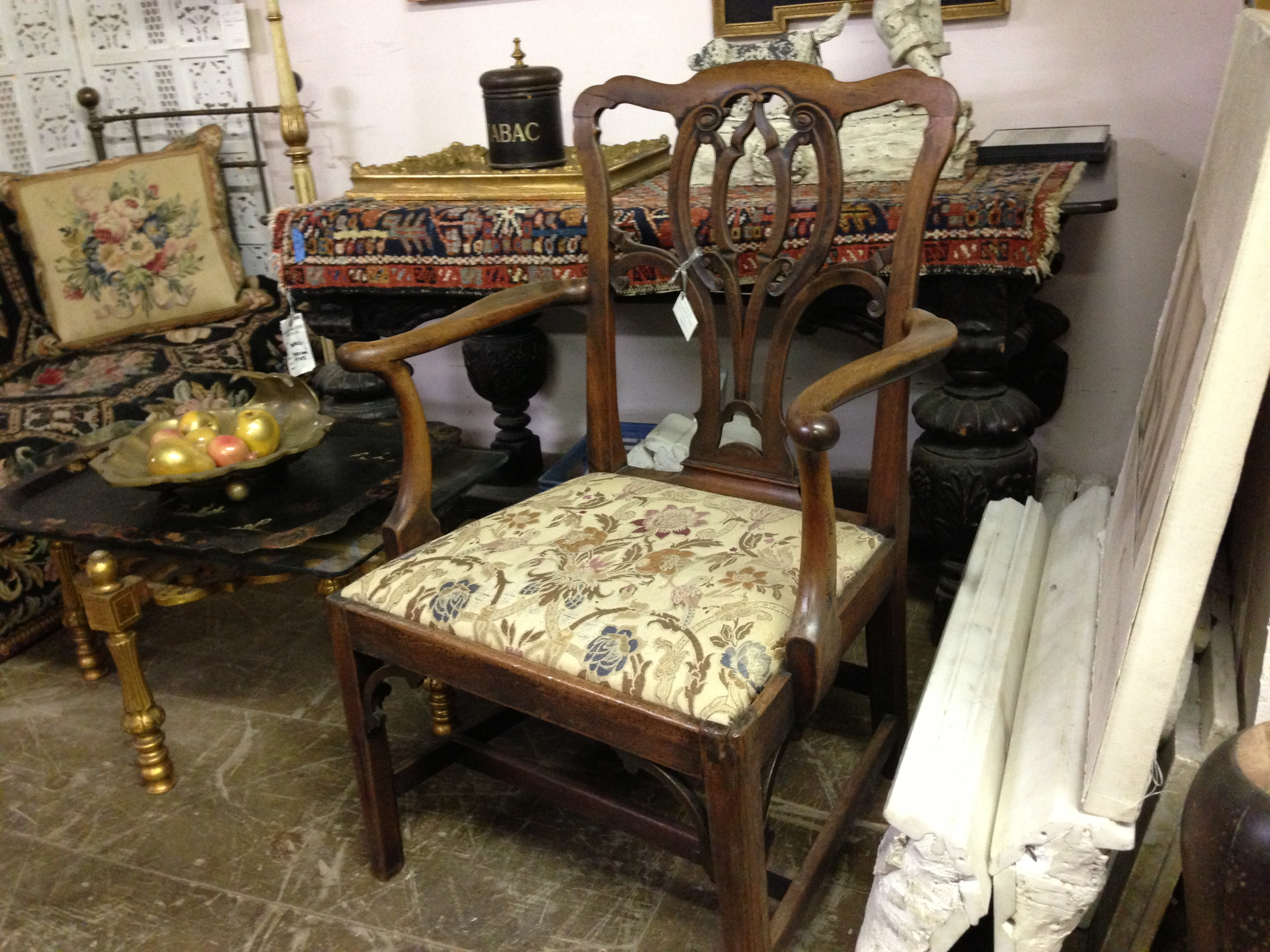 Georgian Arm Chair - Berkshire Home & Antiques