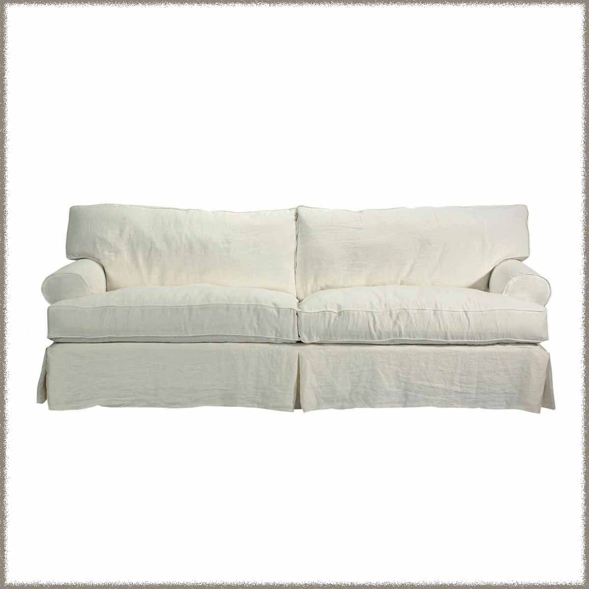 Slipcovered Sofa - Brand New
