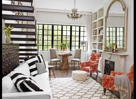 Genevieve Gorder's NY Apartment - via Huffington Post