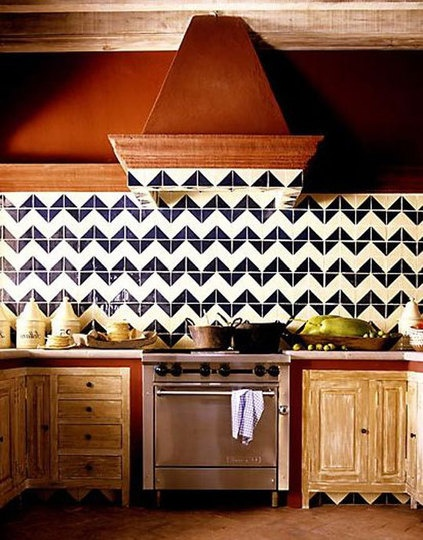 Chevron Backsplash in Kitchen | Trendy vs. Timeless: Striking the Balance | Interiors For Families