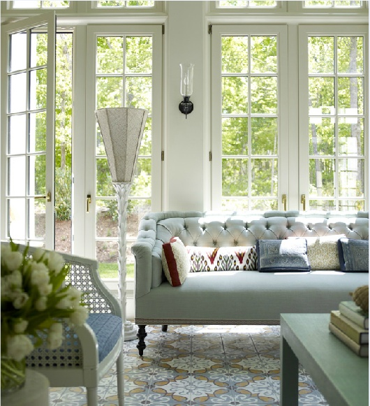 Why I Love a Tightback Sofa | Interiors For Families | designer: Katie Ridder