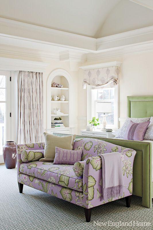 Why I Love a Tightback Sofa | Interiors For Families | via New England Home