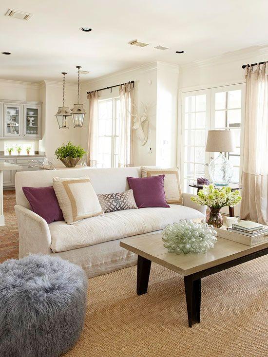 Why I Love a Tightback Sofa | Interiors For Families | via Pinterest