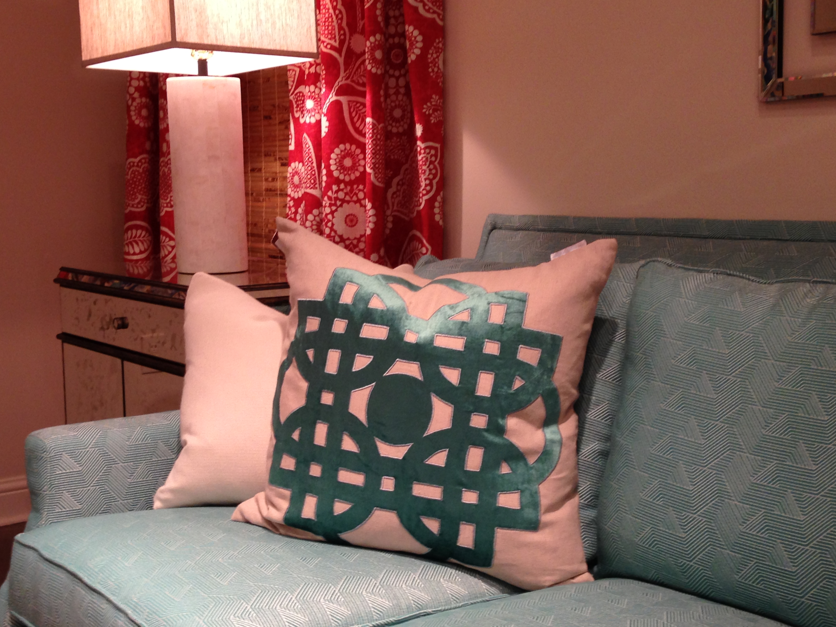 Traci Zeller Pillow Collection @ CR Laine | #hpmkt Spring 2014 | via Interiors For Families