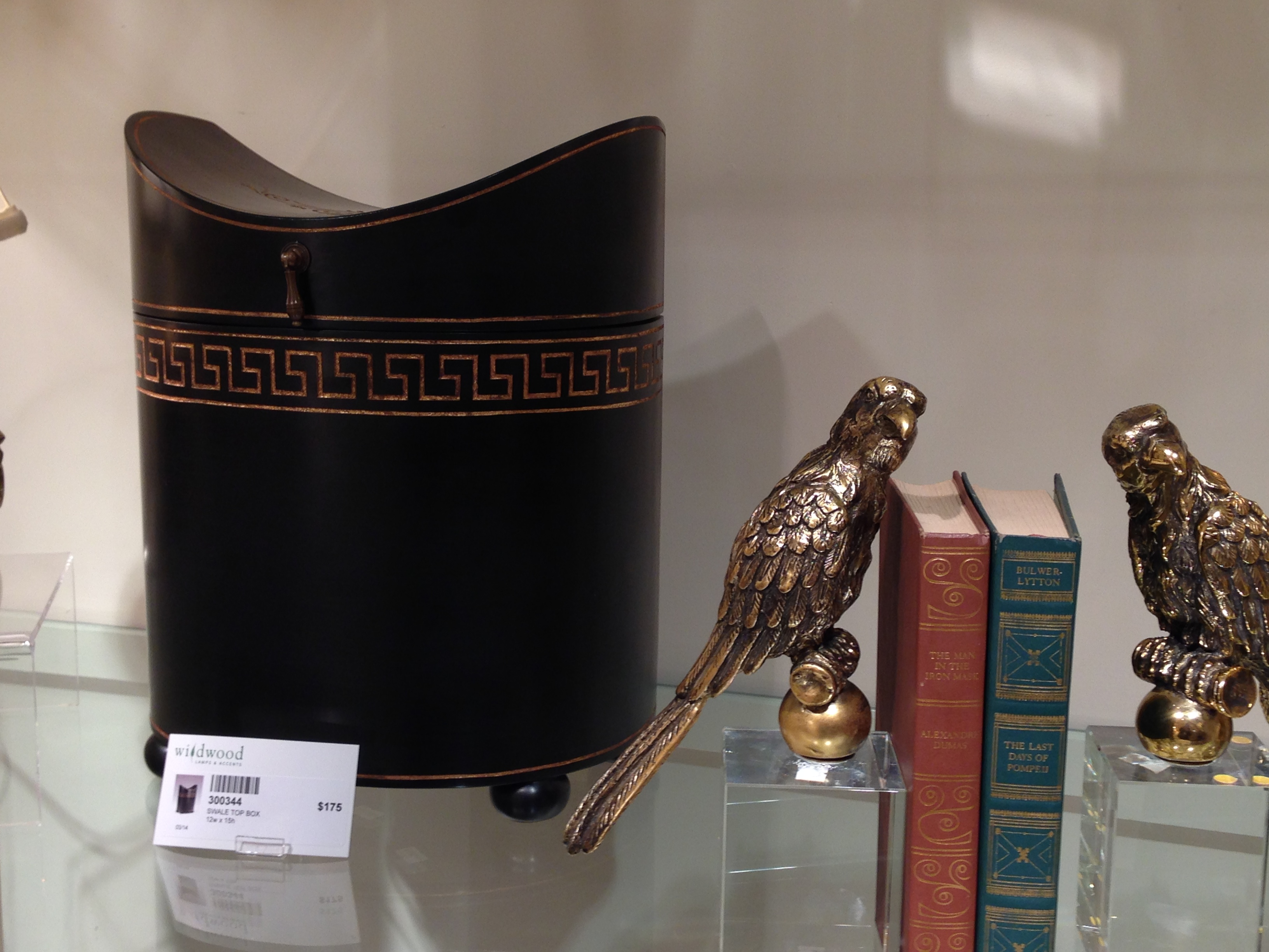 Knife Box at Wildwood Lamps | #hpmkt Spring 2014 | via Interiors For Families