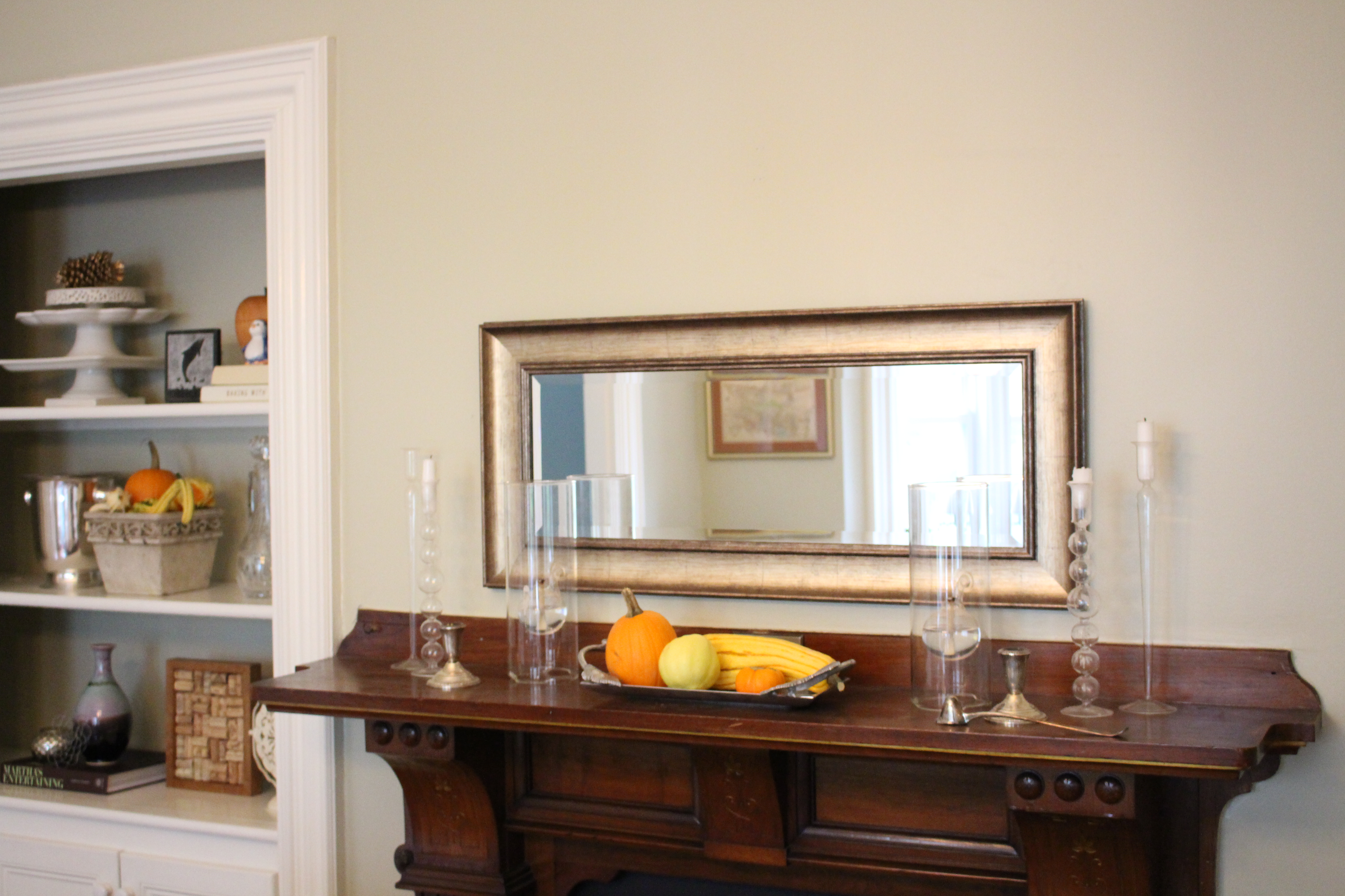 Autumn Styling in the Dining Room | Kelly Rogers Interiors | Interiors for Families
