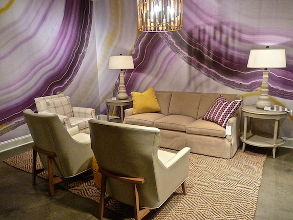Tracy Hiner/Black Crow Studios at CR Laine - High Point Market Spring 2014 (via Quintessence)