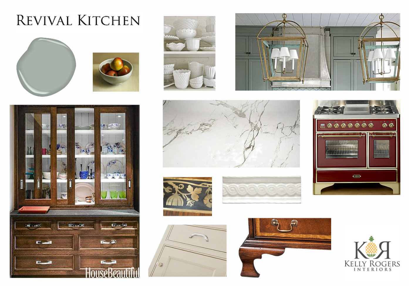 Revival Kitchen | Kelly Rogers Interiors | Interiors for Families
