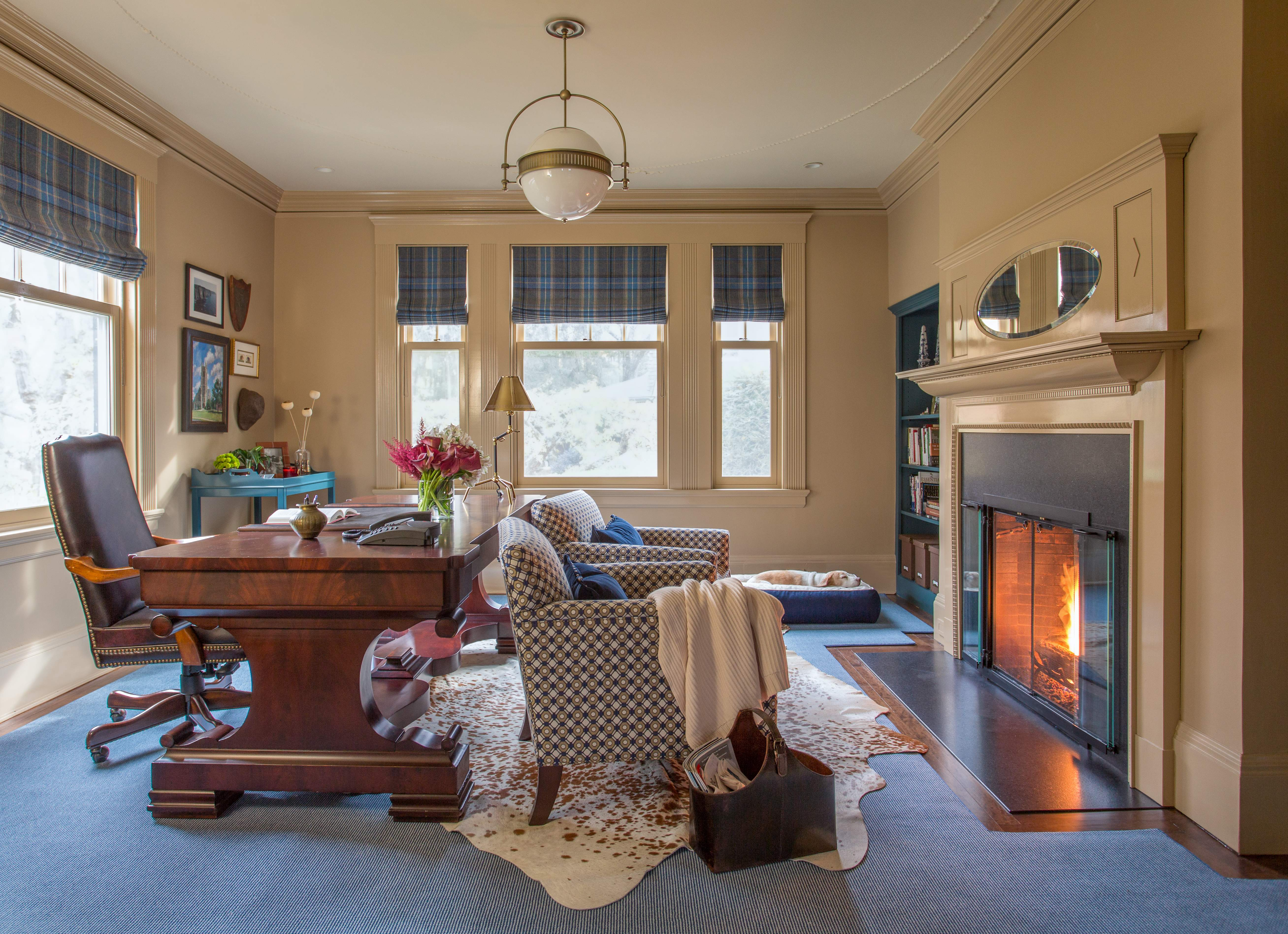 One Room Challenge Manbrary Reveal | Kelly Rogers Interiors | Interiors for Families