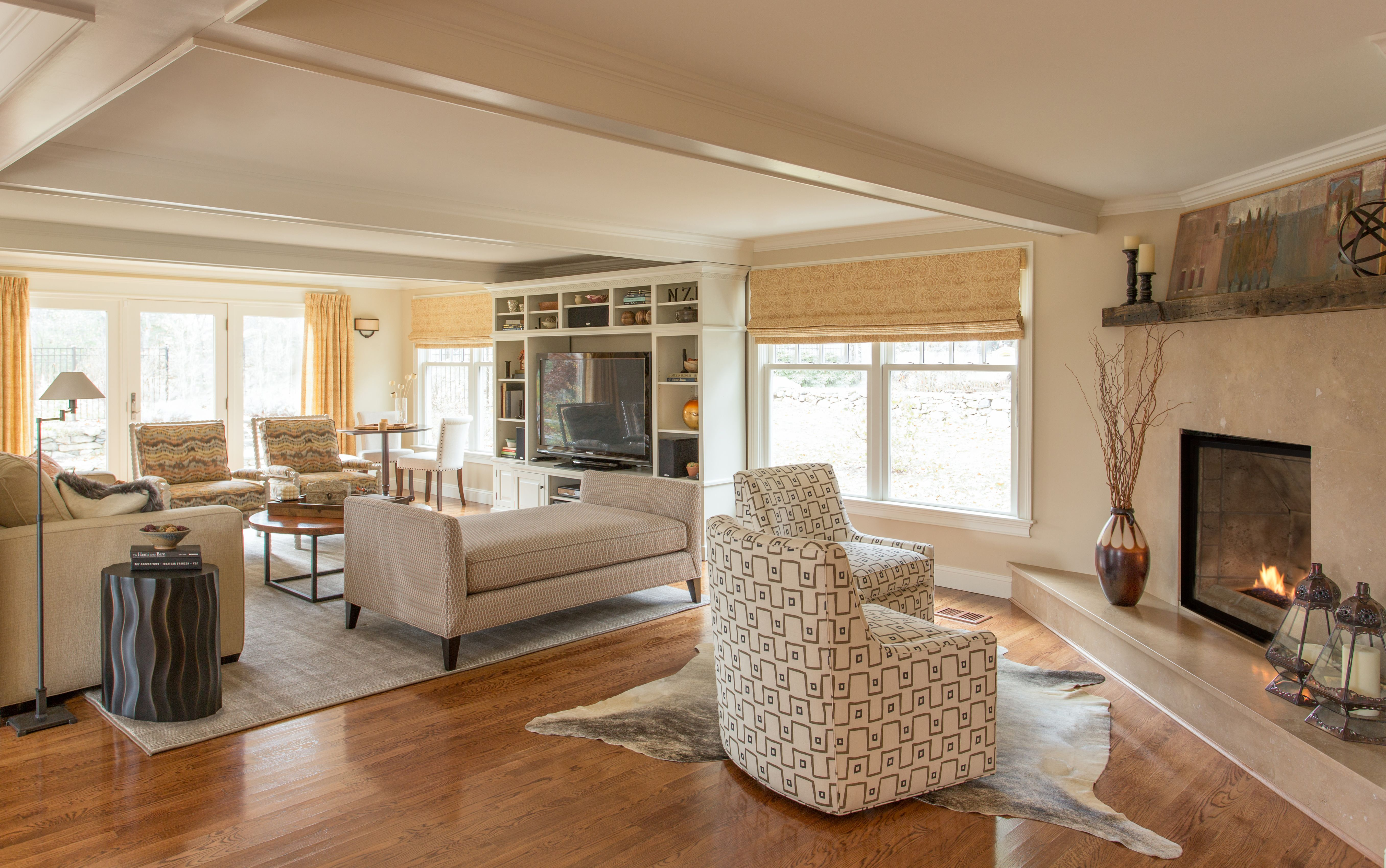 Project Reveal: Brown Moves Down, A Home Lights Up | Kelly Rogers Interiors | Interiors for Families