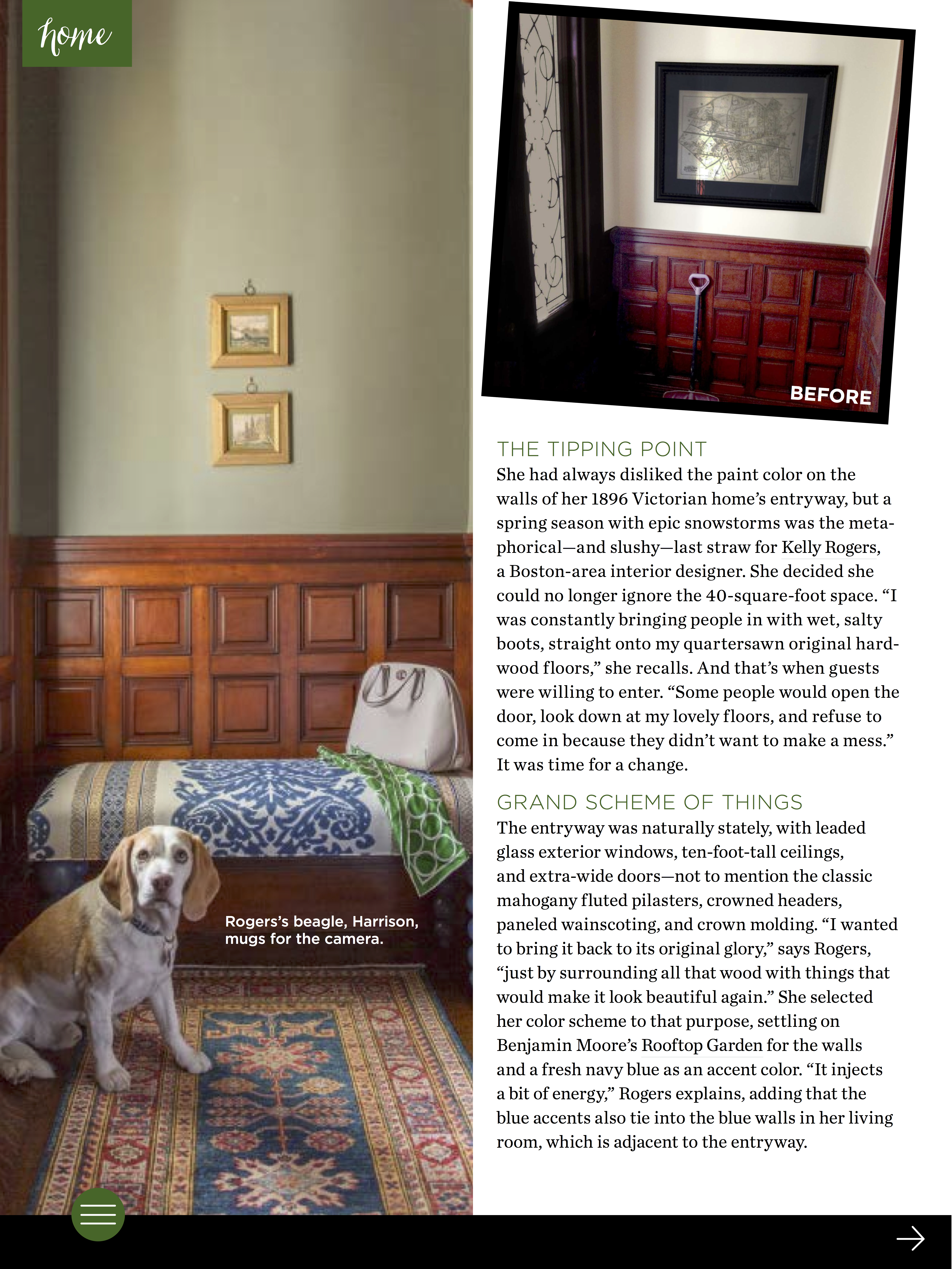Kelly Rogers Interiors | Interiors for Families | 11/2015 Three Magazine Feature