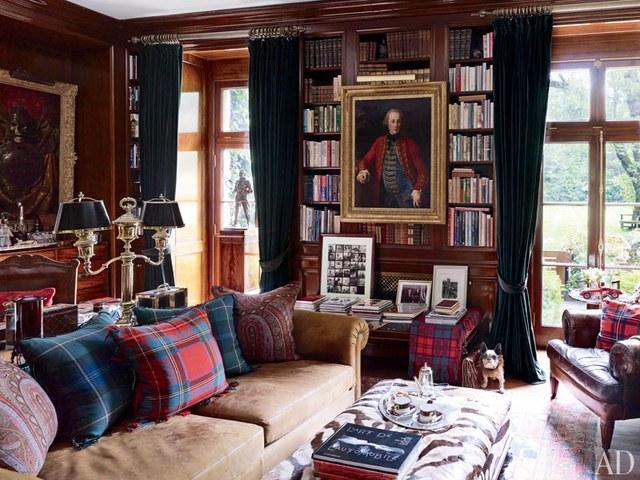 Ralph Lauren | The Allure of Antique Portraits | Interiors for Families