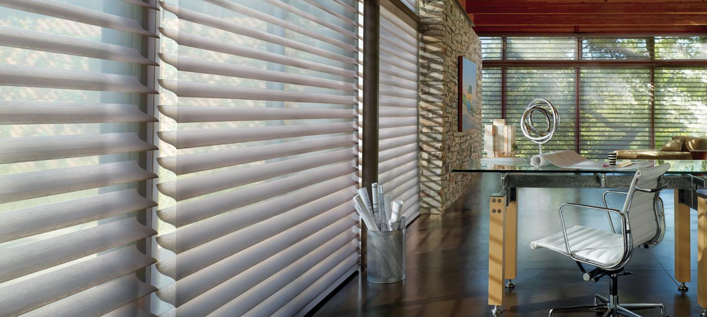 Hunter Douglas Silhouette Window Treatments | Interiors for Families