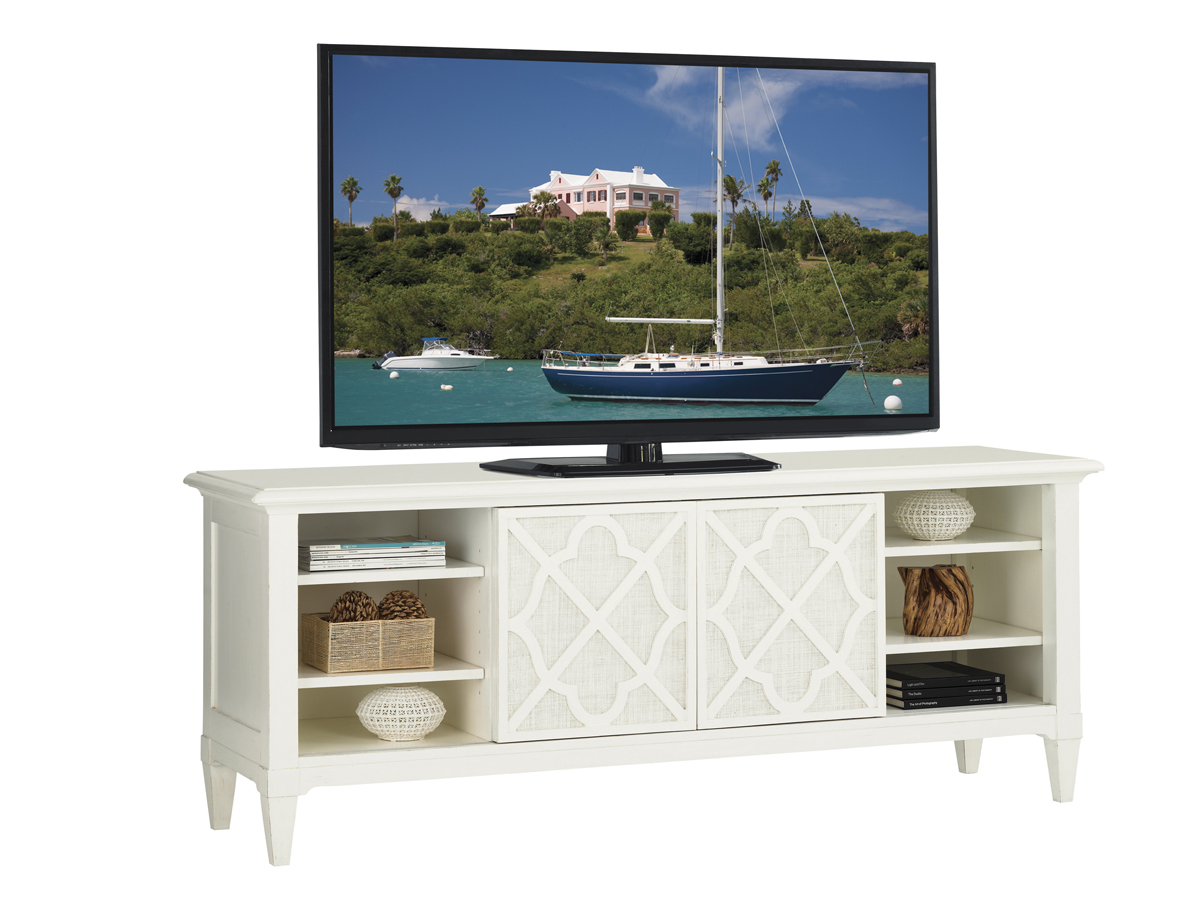 Lexington Warf Street Entertainment Console | Friday Family-Friendly Find | Interiors for Families