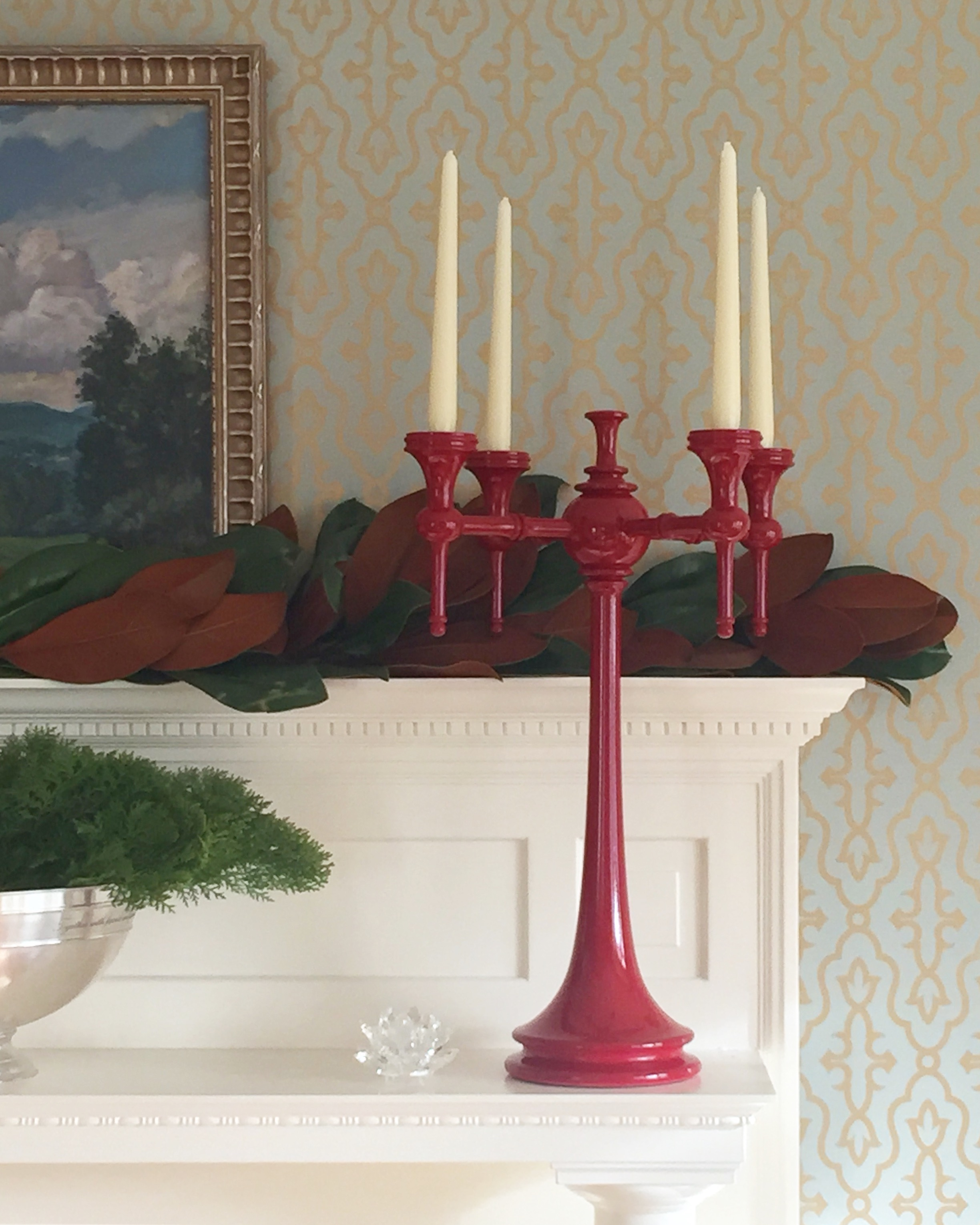 Dunes & Duchess Moderne Candelabra | Kelly Rogers Interiors | Interiors for Families
