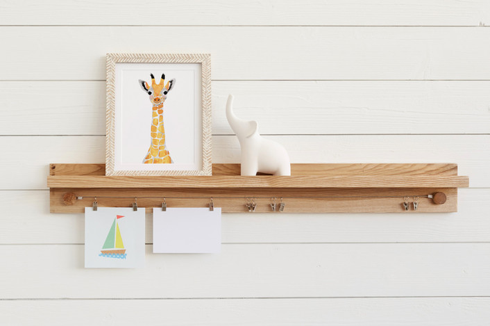 Minted Little Artist Shelf | Friday Family-Friendly Find | Interiors for Families
