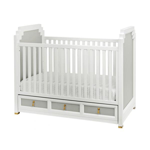 Friday Family-Friendly Find: DwellStudio Vanderbilt Convertible Crib | Interiors for Families